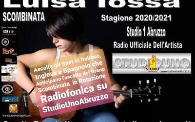 Luisa Iossa il Brano Scombinata in Rotazione Radiofonica Su Studio Uno Abruzzo