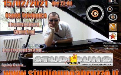 Carmine Nappi In Diretta Telefonica Su Studio Uno Abruzzo