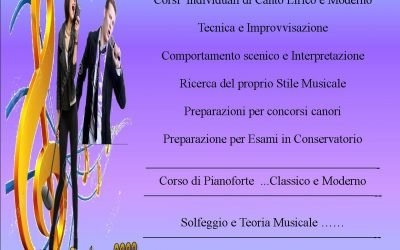 Carmine Nappi School Dai Voce Al Tuo Talento Sono Aperte le iscrizioni dal 3 Settembre Ripartono i Corsi