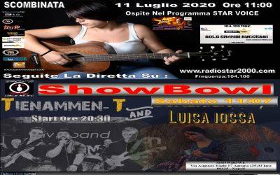 Riparte il Tour di Luisa Iossa Scombinata Tour Con i Tienamen-t Band