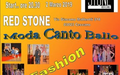 Stars In Progress …….  Start 2 Marzo 2019 ore 20.30 Red Stone Ceccano (Fr)  ………