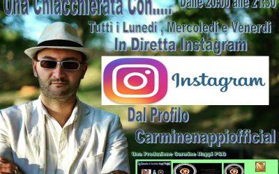Una Chiacchierata Con…  In Diretta Live Sul Profilo Instagram Carminennappiofficial