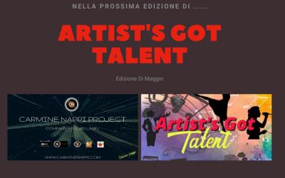 Riconfermata La Partnership nel contest Artist's  Got Talent 6° Edizione