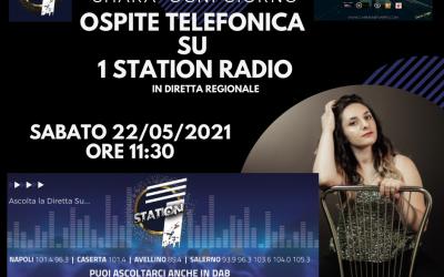 Shara Intervista Telefonica Su 1 STATION RADIO                  in diretta Regionale